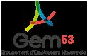 Logo Groupement d'employeurs Mayennais - GEM53 png