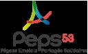 Logo groupement d'employeurs PEPS - Pégase Emploi Partagé Solidaire - recrutement Associations Collectivité