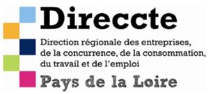 logo Direccte direction régionale des entreprises de la concurrence, de la consommation du travail et de l'emploi