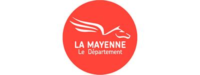 Logo La Mayenne Le Département