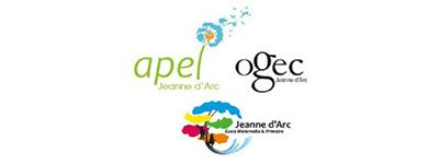 Logo APEL OGEC Jeanne d'Arc