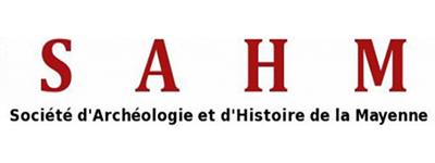 Logo S.A.H.M Société d'Archéologie et d'Histoire de la Mayenne